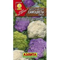 Капуста Самоцветы цветная  | Семена
